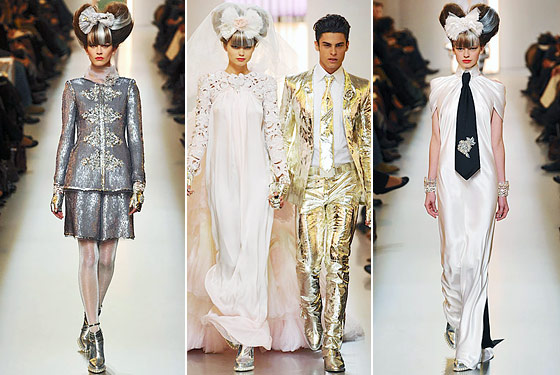 Chanel Haute Couture Highlights: Baptiste As the Tin Man, Shorts, and No Little Black Dresses