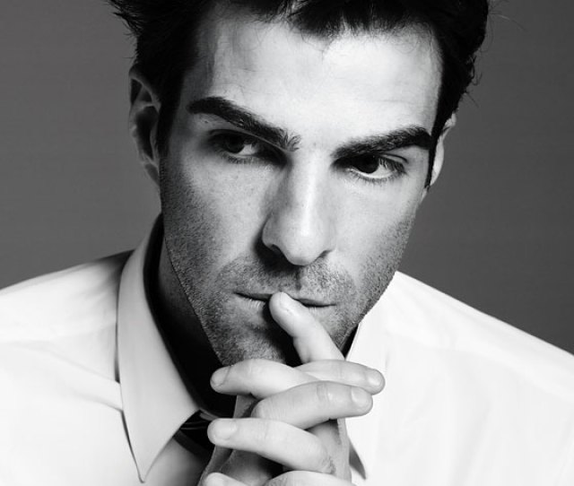 He Might Be A Famous Vulcan But Zachary Quinto Has No Problem Being Fully Human