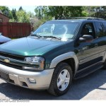 2002 Chevrolet Trailblazer Ltz 4x4 In Forest Green Metallic 529062 Nysportscars Com Cars For Sale In New York
