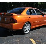 2005 Nissan Sentra Se R Spec V In Volcanic Orange Photo 6 550157 Nysportscars Com Cars For Sale In New York