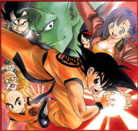 Dragon Ball al estilo de Yaushiro Kano