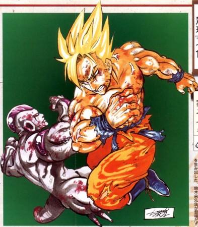 Dragon Ball al estilo de Nakaba Suzuki