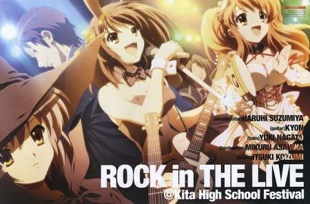 Haruhi y su banda de rock