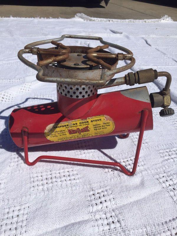 Vint Propane One Burner Stove Bernzomatic Tx500 Plete Includes