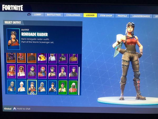 Renegade Cheap Raider Account