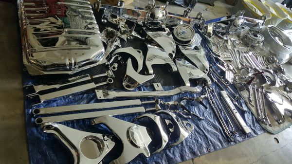 Lowrider Chrome Plated Suspension Parts For Sale In