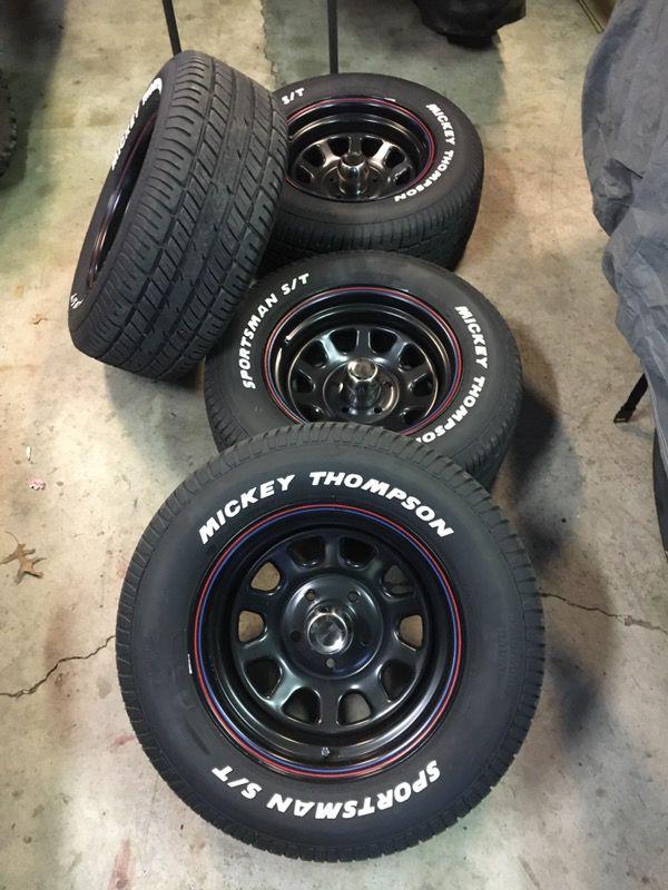 15x8 American 4 5 Racing Order Wheels Spoke