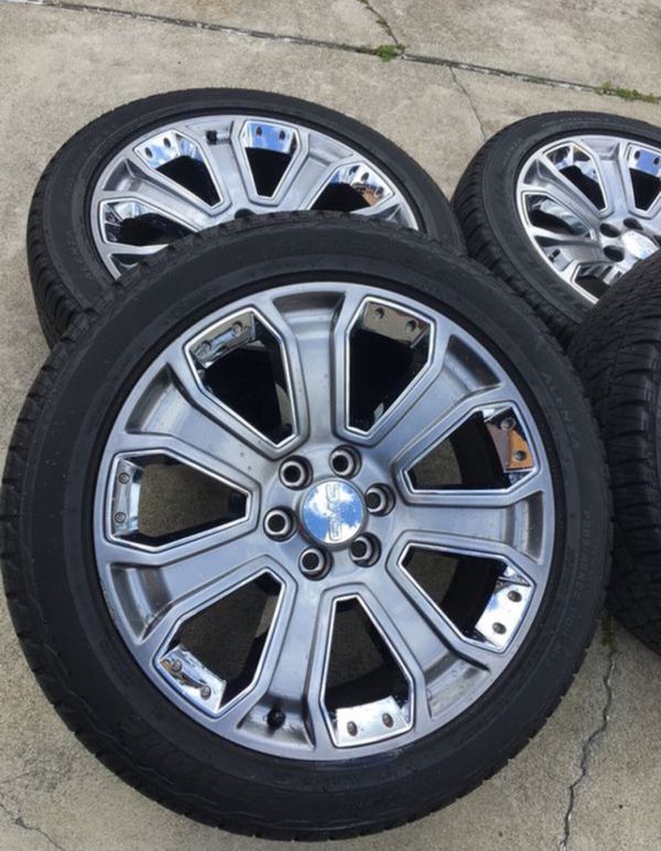 2017 Gmc Yukon 22 Wheels