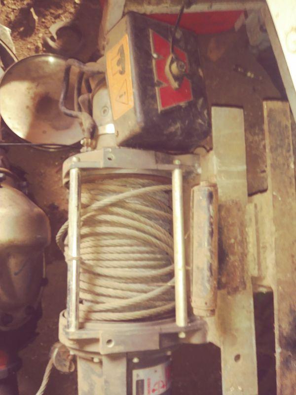 10,000 lb. WARN winch for Sale in La Center, WA - OfferUp