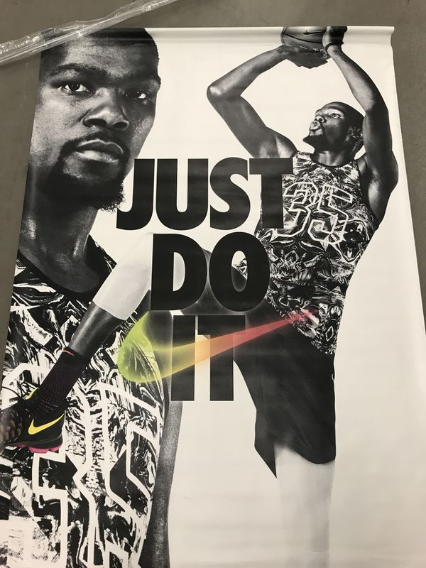 kevin durant nike poster for sale in