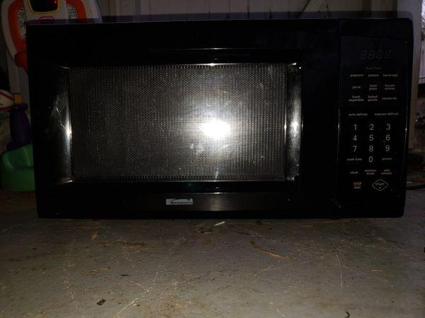 black kenmore microwave for sale in