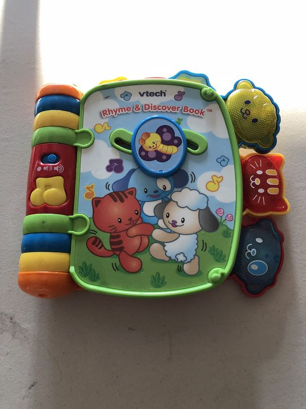 And Vtech Book Rhyme Discover