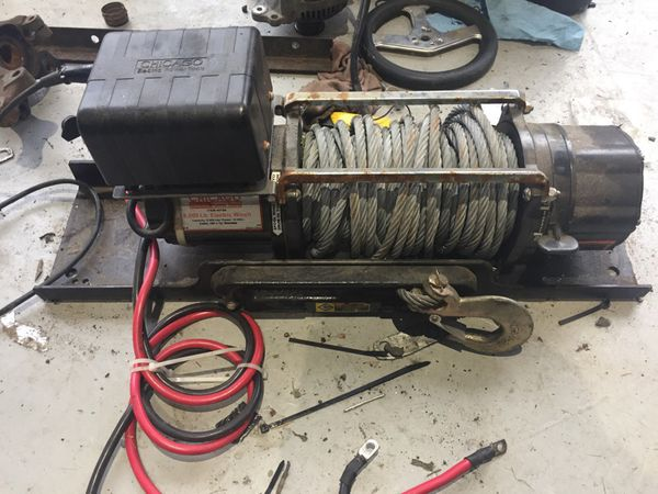 Chicago Electric 8000 Lb Winch For