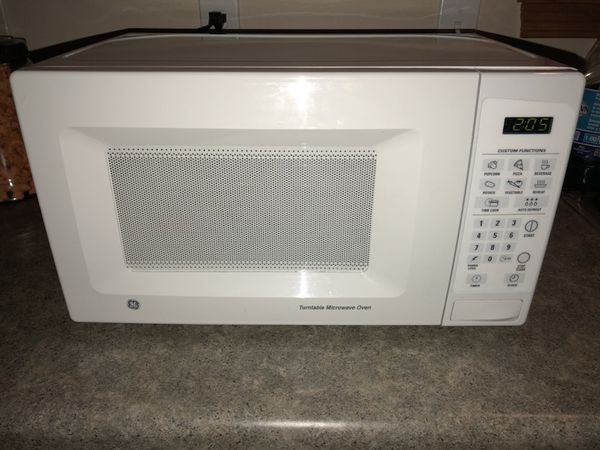 ge turntable microwave oven for sale in