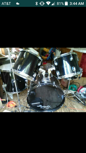 New and Used Drum sets for Sale in Fayetteville  NC   OfferUp FULLY BLACK DRUM SET for Sale in Raeford  NC