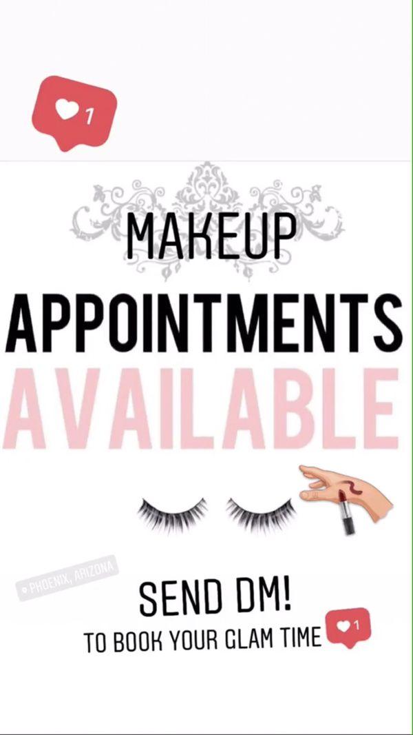 Makeup Appointments Available Makeup Vidalondon