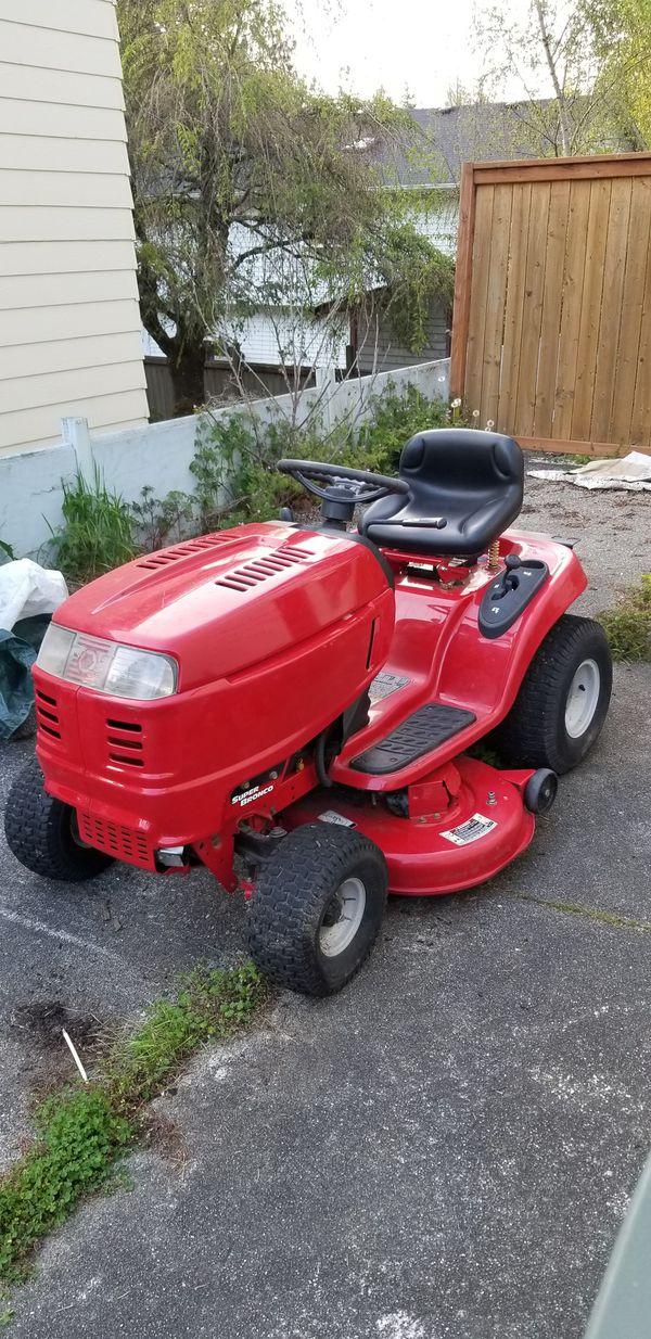 Troy Bilt Super Bronco Riding Mower For Sale In Everett WA OfferUp