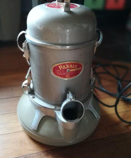 Vintage Rexair Model C Vacuum Cleaner For Sale In Olathe