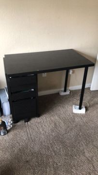 Black desk for Sale in Round Rock  TX   OfferUp