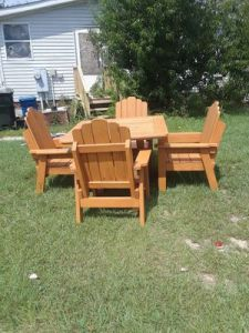 New and Used Patio furniture for Sale in Fayetteville  NC   OfferUp Handmade wooden patio furniture for Sale in Fayetteville  NC