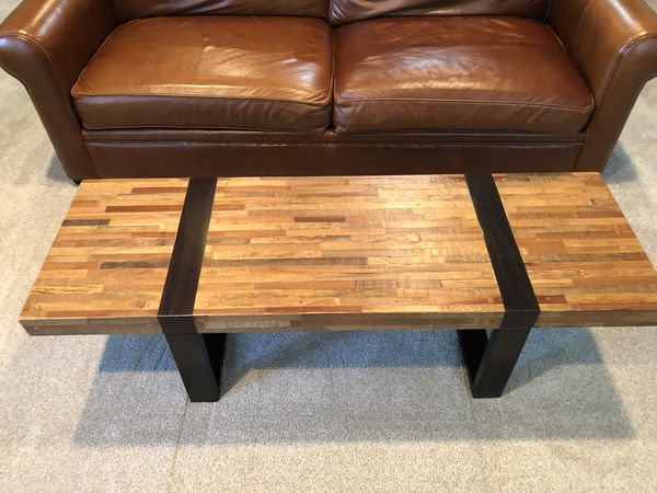 crate barrel seguro coffee table for