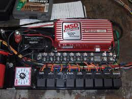 Custom relay  fuse panels for race car  street cars for