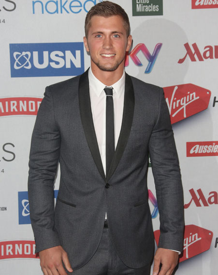 Dan Osborne was reportedly arrested after a row with his ex-girlfriend [Wenn]
