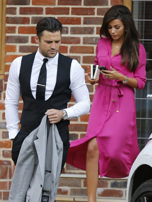 Mark Wright and Michelle Keegan [Flynet]