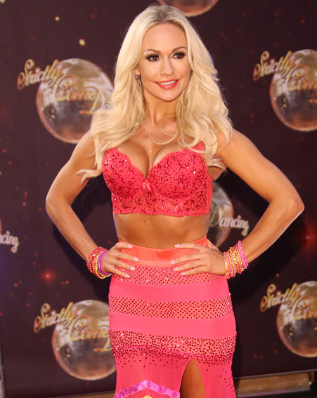Kristina Rihanoff has made her name on Strictly [Wenn]