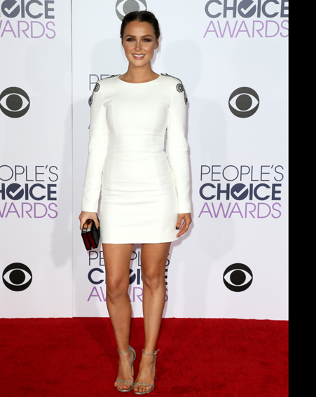 Camilla Luddington looked all white [Getty]