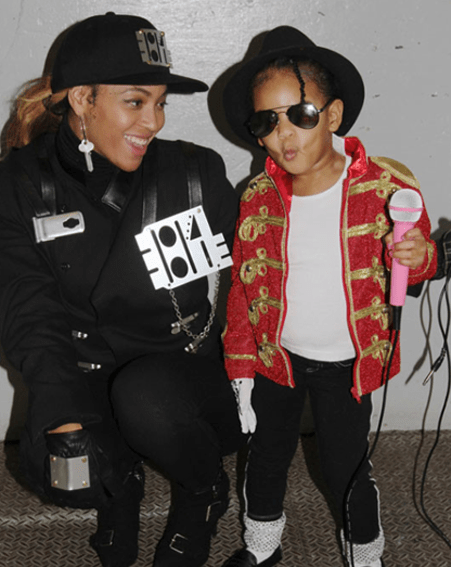 Blue Ivy dressed as Michael Jackson for Halloween was EVERYTHING [beyonce.com]