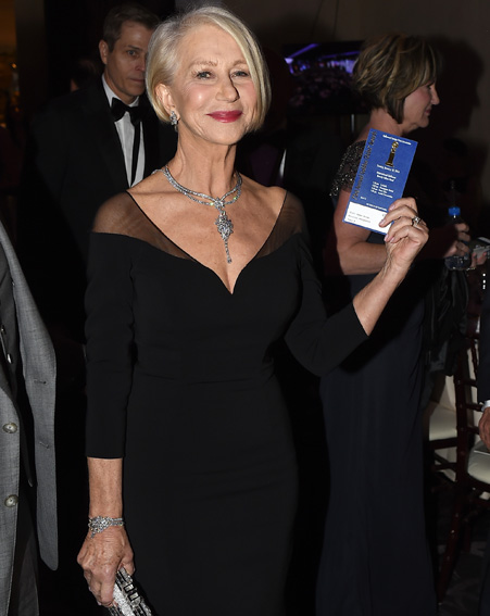 Dame Helen Mirren will be honoured with the Lifetime Achievement Award on March 31 [Getty]