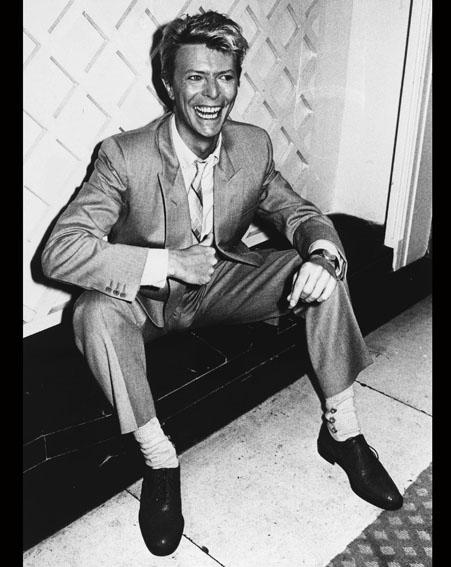 David Bowie in 1983 [Getty]