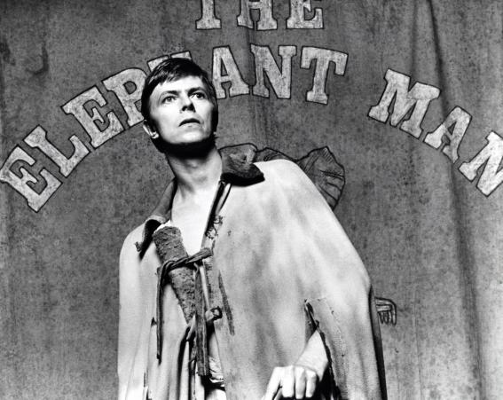 In The Elephant Man on Broadway, 1980 [Wenn]