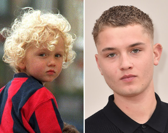 Jude Law and Sadie Frost's son Rafferty is now signed to Select Model Managment [Rex/Getty]