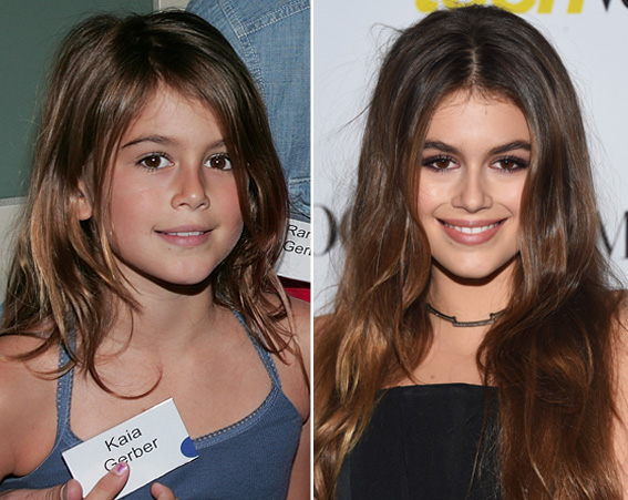 Kaia Gerber is following in her model mum Cindy Crawford's footsteps [Getty]