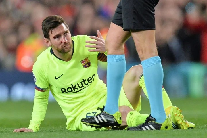 Thus he was the face to Messi.