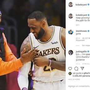 Los últimos mensajes de Kobe