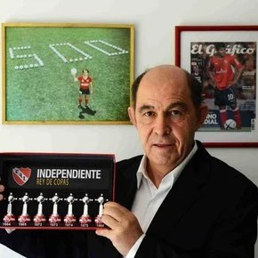 Bochini: analysis to the Red, talk with Monzón and request to the CD