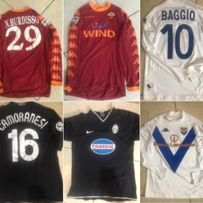 Sigue subastando camisetas para ayudar: hay de Burdisso y Camoranesi