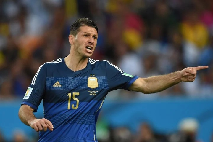 Demichelis played the last games of the World Cup.  (AFP)