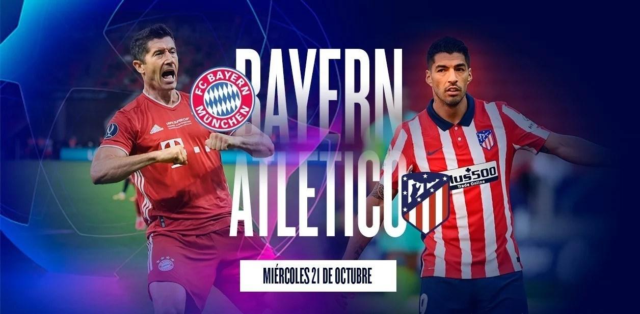 Bayern Munich – Atlético Madrid: hora, formaciones y por dónde verlo en vivo