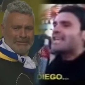 The most viral Maradonian reappeared: how is he after Diego's death