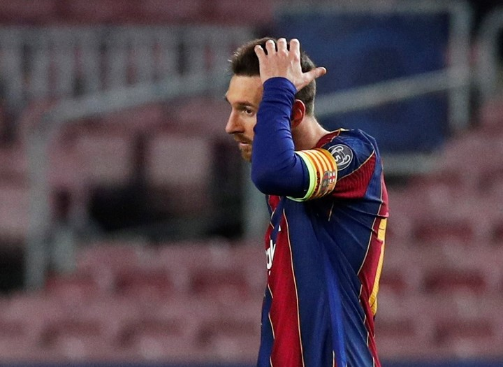 Messi could go to Manchester City or PSG.  (Reuters)
