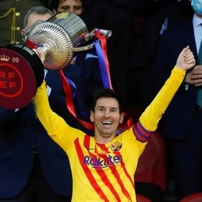 Happy Messi: his celebrations after the title