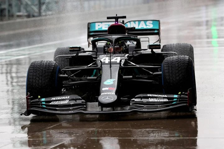 Victory in 2020 was left to Lewis Hamilton.