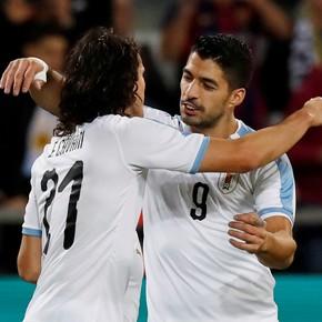 La lista de Uruguay para la Copa América, con Suárez y Cavani