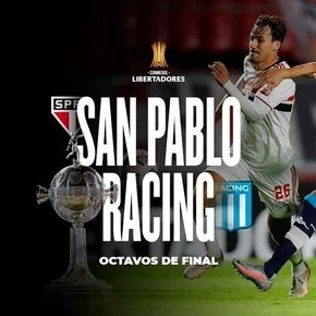 Racing, en octavos, vuelve a cruzarse con San Pablo