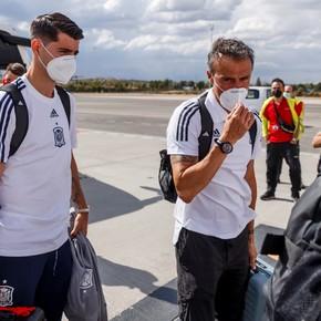 Luis Enrique bancó a Morata y el delantero también se defendió