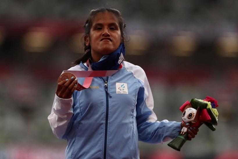 Juegos Paralímpicos: Yanina Martínez logró la medalla de bronce